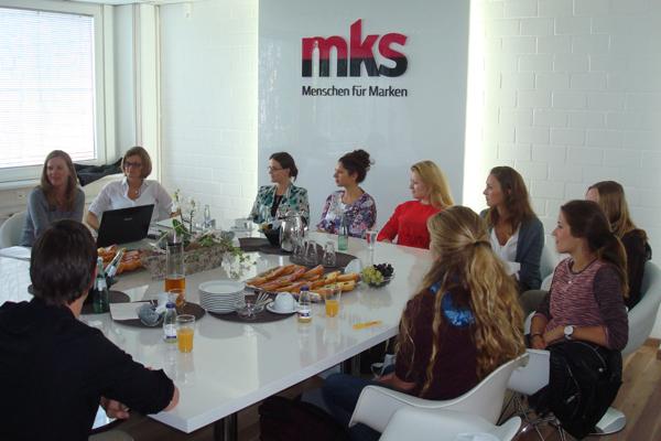 mks begrüßt neue TeamleiterInnen